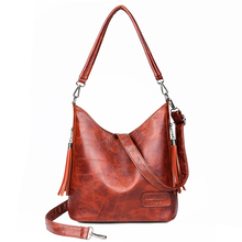 цена The New tassel Designer Handbags High Quality Leather Shoulder Crossbody Bags For Women Bag Female Messenger Bag Ladies Hand Bag онлайн в 2017 году