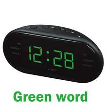 Am/fm светодиодное радио с часами Функцией ожидания сна