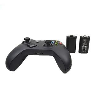 Image 2 - 充電式バッテリー & 充電ケーブルセットプレーと充電 Xbox の One ハンドルパッドワイヤレスコントローラアクセサリー