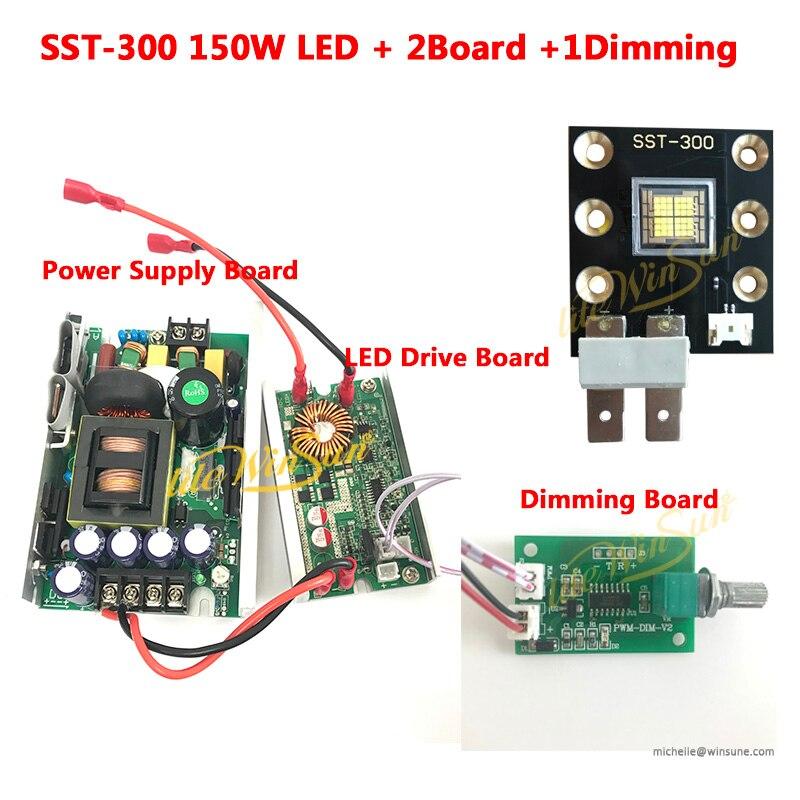 Litewinsune SST-300 High Power Emitter LED Source 150W For LED Followspot Light DIY Project Light LED