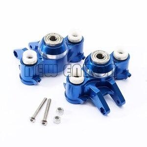 Image 3 - ENRON porte bloc de direction en aluminium avant/arrière, support pour voiture RC, Traxxas 5334 1/10 SUMMIT E REVO REVO, nouvelle collection