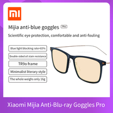 Xiaomi Mijia  Anti Blue Mi Computer Glasses Pro Anti Blue Ray UV Fatigue Proof Eye Protector Mi Home TS Glass