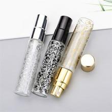 Empty-Glass-Perfume-Bottles Aluminum-Spray Mini Portable 10ml Nozzle-Printed Nozzle-Printed
