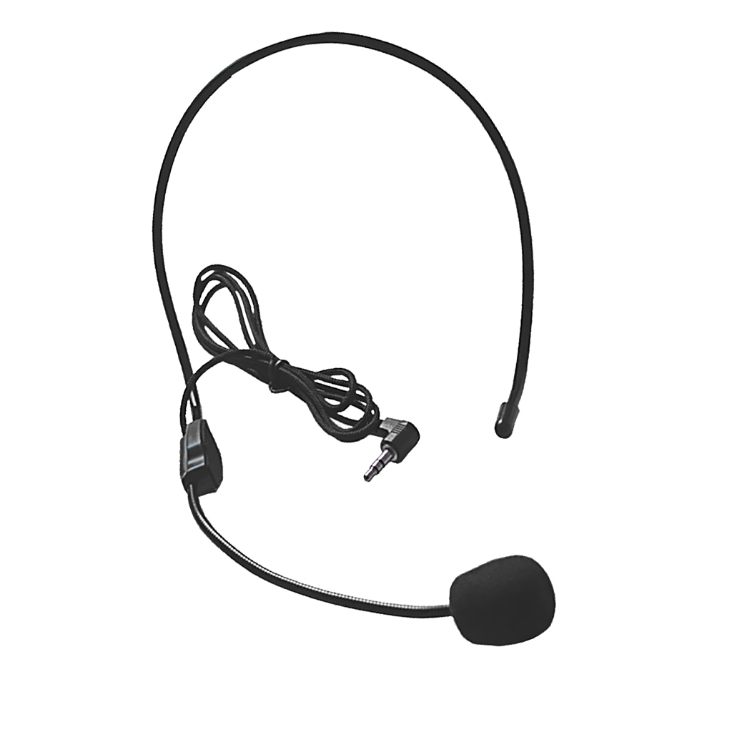 Universal Cell Phone Headset 3.5mm Wired Operator Style Flex Boom Microphone For Call Center Skype Office