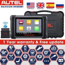 Autel Maxicom MK808BT MK808 Auto Diagnostic Tool Code Reader Scanner Epb Srs Dpf