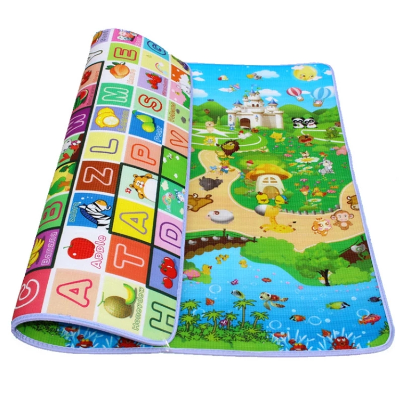 Multiple Sizes Colors Rollable Baby Play Mat Kid Rug Puzzle Carpet Infant Foldable Playmat Early Education Crawling Game Pad Toy