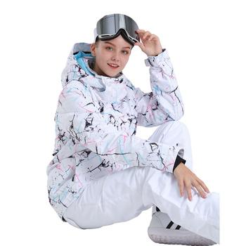 SMN kurtka snowboardowa kolorowa wiatroodporna wodoodporna oddychająca dorosła damska kurtka narciarska ciepła zimowa Outdoor Sport odzież narciarska tanie i dobre opinie NoEnName_Null WOMEN Poliester Jazda na snowboardzie Kurtki Pasuje prawda na wymiar weź swój normalny rozmiar Wiatroszczelna