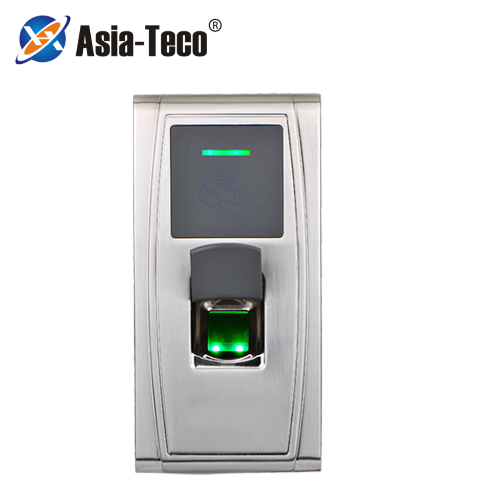 125KHZ RFID Biomtric Fingerprint Time Attandance Access Control TCP IP RS485 USB Outdoor IP65 Waterproof ZK MA300