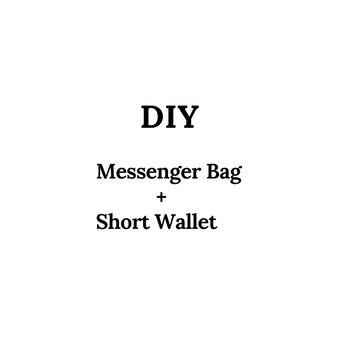 Men Leather Messenger Bag Male