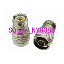 10pcs N male Plug to UHF female SO 239 SO239 Jack RF adapter connector