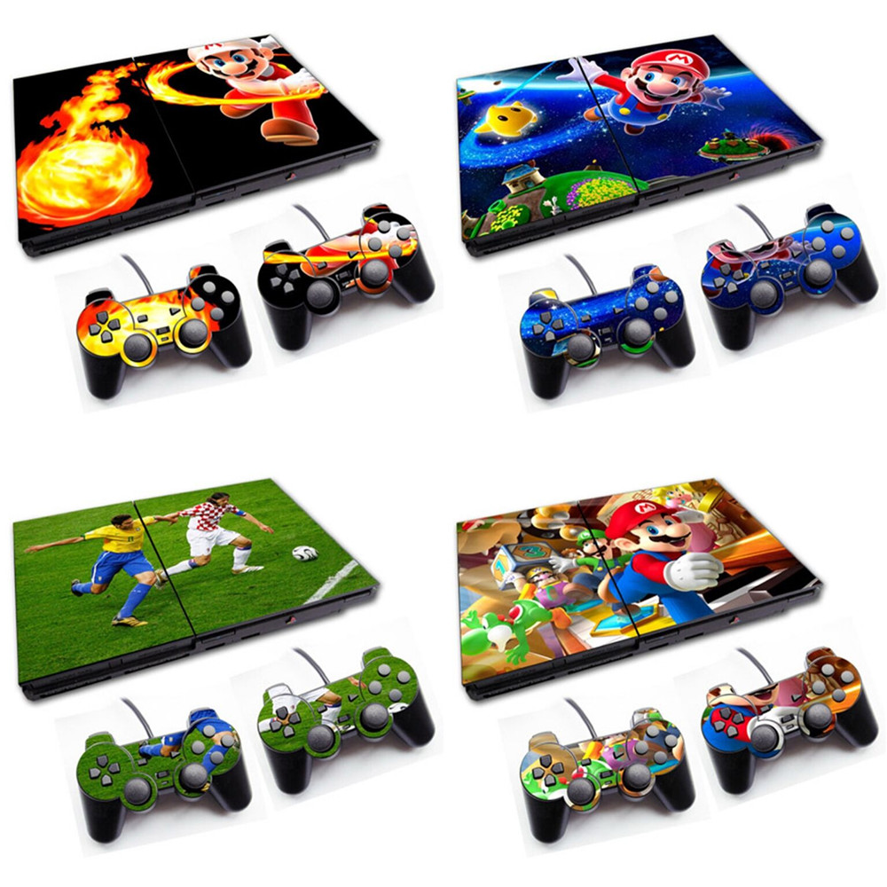 Vinyl Skin Sticker Protector For PS2 Slim 70000 Series