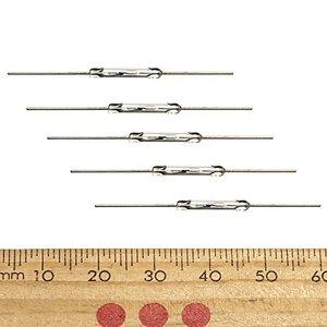 10 шт. N/O геркон магнитный переключатель 2*14 мм нормально открытый магнитный индукционный переключатель для Arduino Датчики      АлиЭкспресс