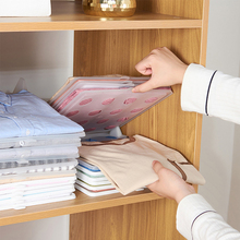 5 шт./10 шт., шкаф для одежды, футболка, доска для хранения одежды, Штабелируемый органайзер для рубашки, для дома, для хранения, для организации, для разделения пространства, инструмент