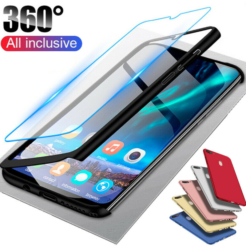 <font><b>Case</b></font> with Tempered <font><b>Glass</b></font> for <font><b>Samsung</b></font> A7 A9 2018 A6 A8 Plus A5 2017 360 <font><b>Case</b></font> for Galaxy A50 A30 <font><b>A40</b></font> A70 A20 A10 S7 S6 S5 Note 4 5 image
