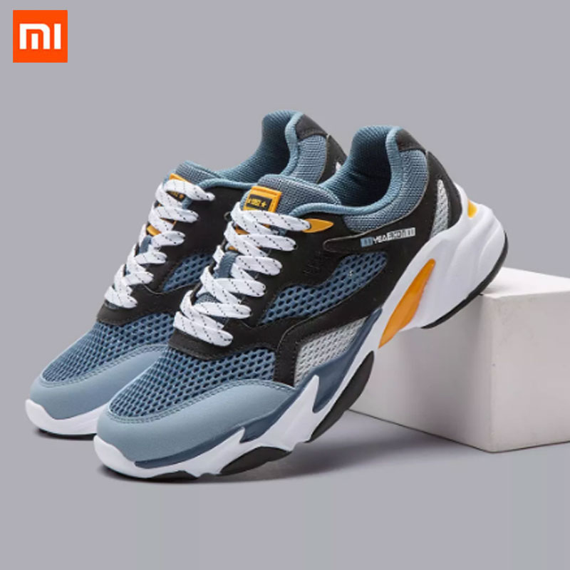 Xiaomi Mijia Yearcon Retro Sneakers High Elastic Midsole Upper TPU + Rubber Non slip Wear Resistant Men Sneakers Sports Shoes|Smart Remote Control| - AliExpress