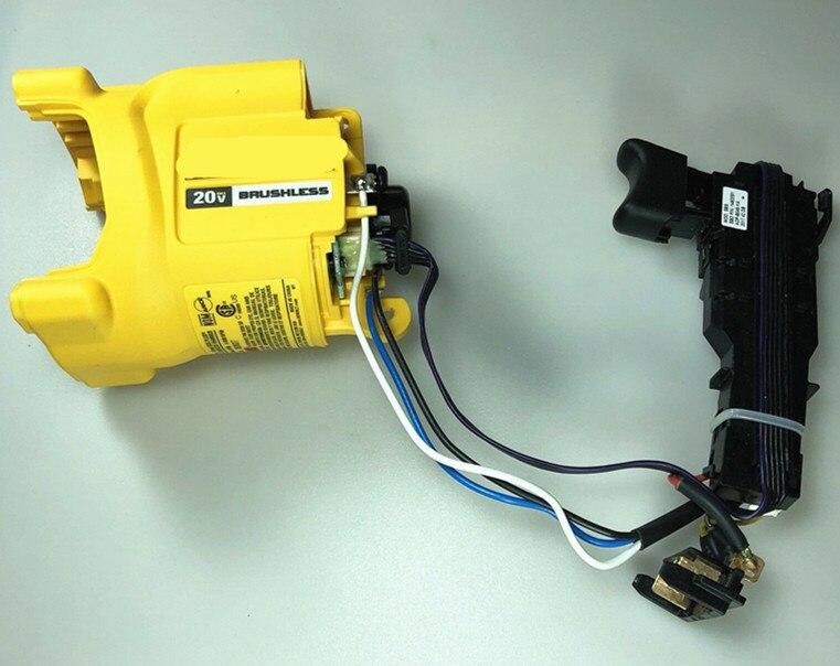 Модуль и узел статора переключатель и двигатель N485558 для Dewalt DCH133 DCH033 DCH133B DCH133M2