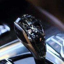 Dökün 5 série G38 G30 F10 F18 kristal pommeau de vitesse universel değişimi de vitesse kristal aksesuarları pièces manuel manett