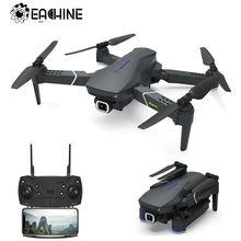 Eachine e520 wifi fpv com 4k/1080p hd câmera grande angular modo de espera alta dobrável zangão quadcopter rtf rc dron