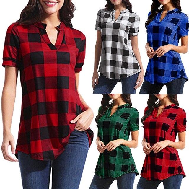checkered pullover shirt, long and fun 1