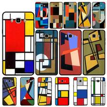 yinuoda pantone candy color case luxury for samsung galaxy note 9 a3 a5 a6 a7 mobile phone accessories Yinuoda Pieter mondrian is abstract case luxury for samsung galaxy note 9 a3 a5 a6 a7 mobile phone accessories