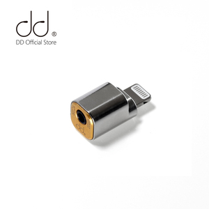 DD ddHiFi TC25i LTG to 2.5mm Jack Headphone Adapter Enables Your iOS Device to Output with 2.5mm Terminated IEM & Earphones