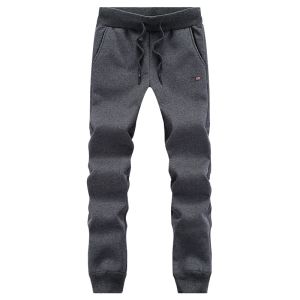 Image 3 - Winter Pants Men Plus Size Big 6XL 7XL 8XL Casual Thick Fur Lining Warm Sweatpants Fleece Elastic Waist Band Large Trousers Male