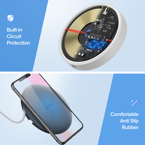 Image 5 - Ugreen Sạc Không Dây 10W 7.5W Sạc Không Dây Chuẩn Qi Cho iPhone 11 Pro X XS 8 XR Samsung S9 s8 Nhanh Điện Thoại Sạc Không Dây