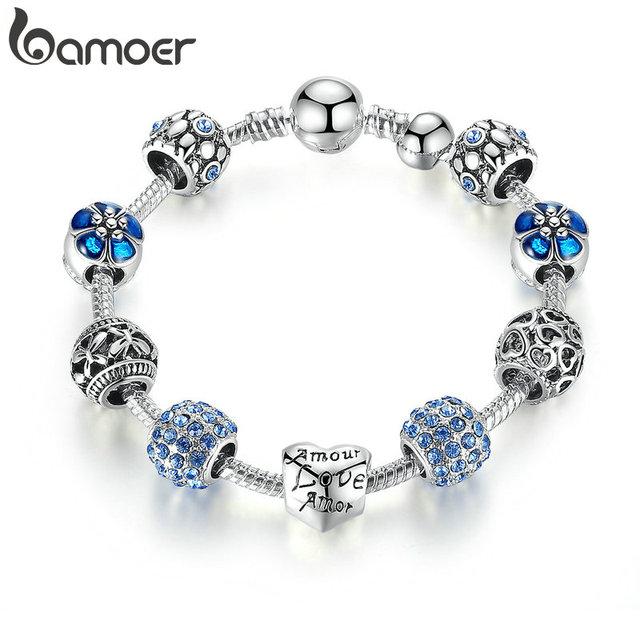Silver Charm Bracelets/Bangles