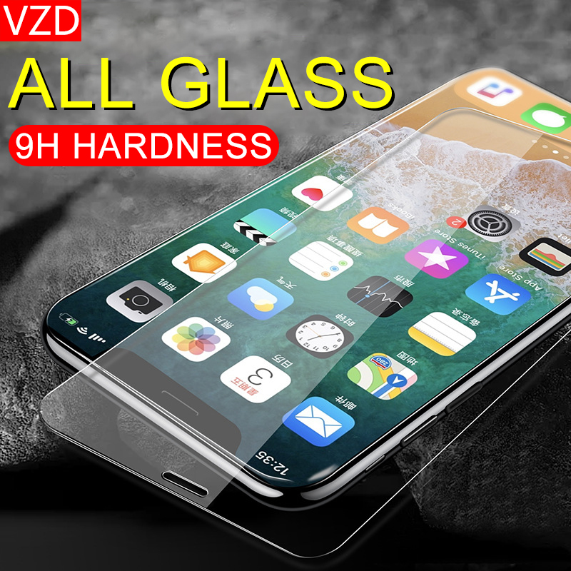 VZD for Iphone8 full coverage 11 explosion proof iphoneX anti fall XS scratch resistant plus anti