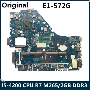 LSC For ACER Aspire E1-572G Laptop Motherboard V5WE2 LA-9531P NBMFP1100B With I5-4200 CPU R7 M265/2GB DDR3
