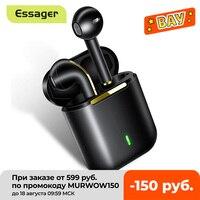 Essager J18 TWS Drahtlose Kopfhörer Bluetooth Kopfhörer Headset Wahre Drahtlose Ohrhörer Für iPhone 12 Pro Max Freisprecheinrichtung Ohr Knospen