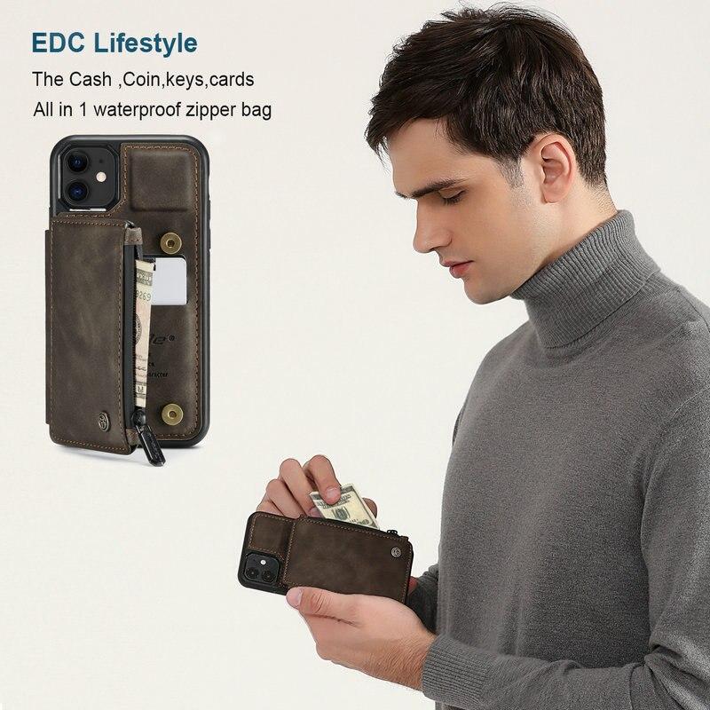 Caseme Premium Leather Phone Case Wallet