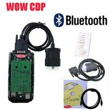 С Bluetooth usb v5.008R2 keygen WOW cdp VD TCS CDP для легковых грузовиков vd ds150e cdp OBD2 диагностический инструмент vdijk autocoms pro