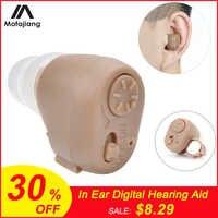 K-86 Hörgerät Batterie Mini Unsichtbar In Ohr Digital Einstellbar Sound Verbesserung Ohrstöpsel Sound Verstärker Ohr Pflege Werkzeug