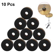 10pcs New Cymbal Drum Accessory Set Felt Washers Nuts Protection Kit Musical Instrument Accessories