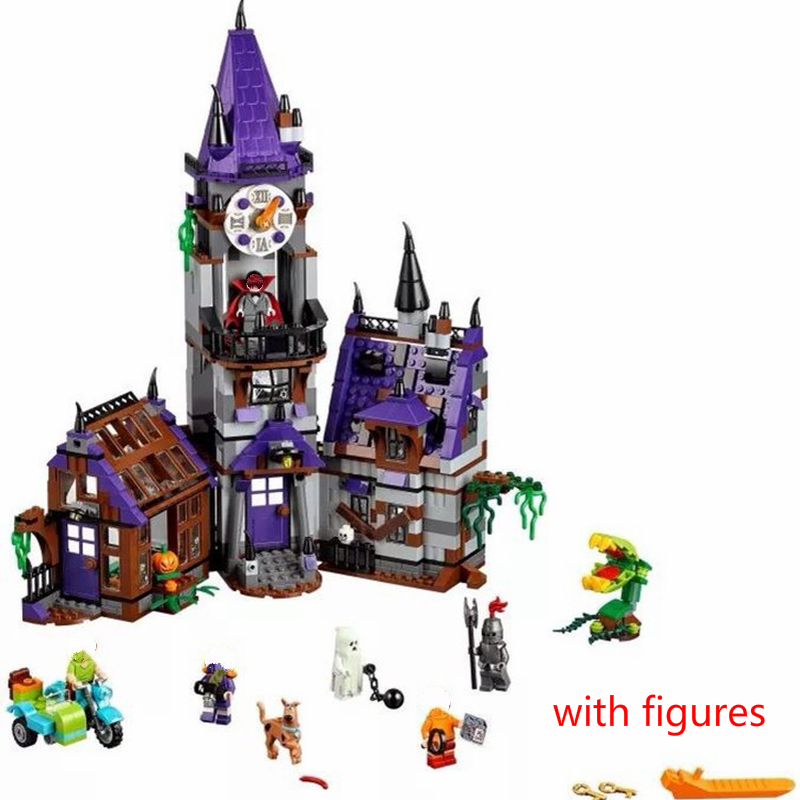 Legoinglys Scooby-doo Mummy Museum Stery Building Block Model Kits Scooby Doo Dog Blocks Toys Compatible With Moc 75904