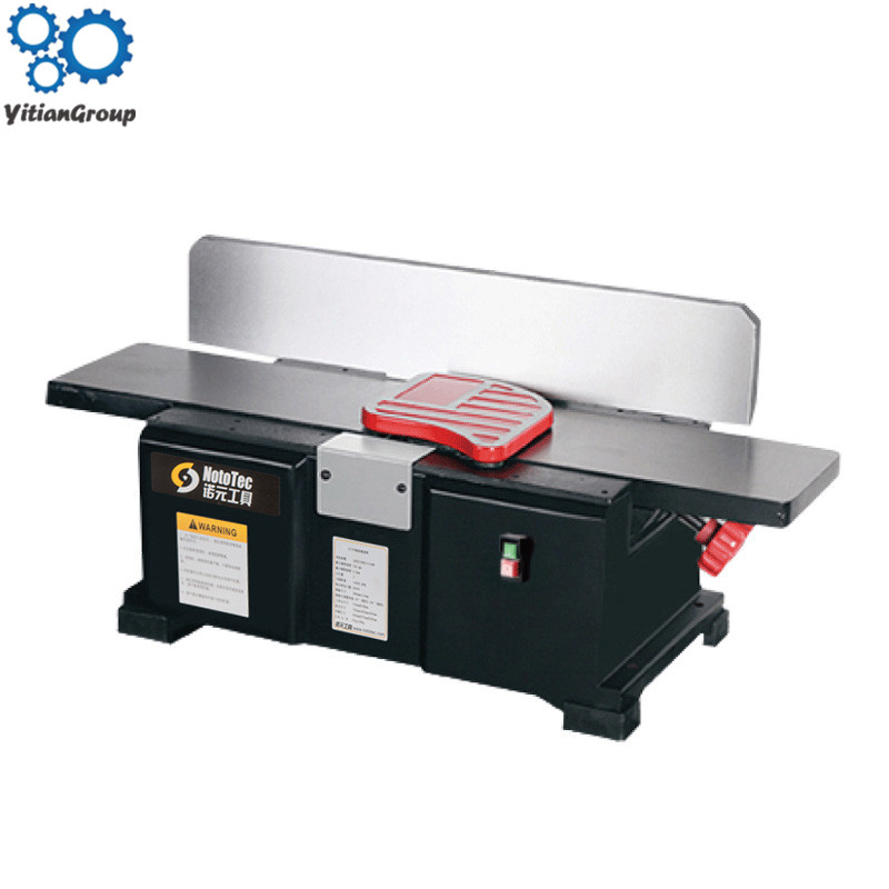 6 inch table wood planer machine 220V 1100W automatic Vacuuming multi-angle backing cast iron plate planer