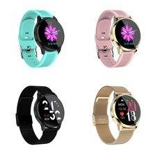 Mk07 relógio inteligente moda esportes relógio à prova dip67 água ip67 rastreador de fitness monitor de freqüência cardíaca pulseira esportes peeter calor