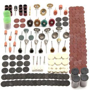 Image 1 - 343 Pcs Schuren Disc Bit Set Mini Boor Rotary Tool Fit Dremel Slijpen, Carving, polijsten Tool Sets Elektrische Grinder Accessoires