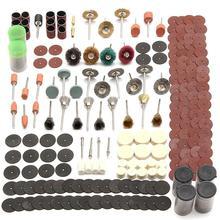 Набор шлифовальных дисков 343 шт., мини дрель, вращающийся инструмент, подходит для шлифовки, резьбы, полировки, Наборы инструментов, аксессуары для электрошлифовальной машины