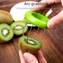 Kiwi descascador cortador de legumes coupe legume slicer pelador mini frutas ferramentas pomme cozinha gadgets e acessórios itens pitaya