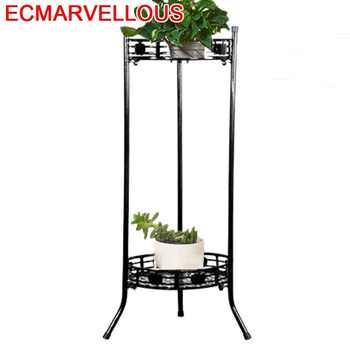 Sera Decorative Metal Dekoru Outdoor Decor Decoracion Exterior Balcone Varanda Flower Shelf Balkon Stand Balcony Plant Rack - Category 🛒 Furniture