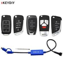 KEYDIY 미니 KD 키 생성기 리모컨 창고 휴대 전화 지원 Android 1000 개 이상의 자동 리모컨으로 유사 KD900