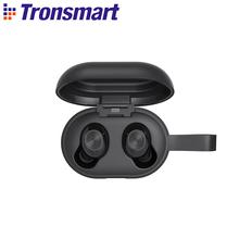 [Najnowsza wersja] Tronsmart Spunky Beat Bluetooth TWS słuchawki APTX bezprzewodowe słuchawki douszne z QualcommChip CVC 8 0 sterowanie dotykowe tanie tanio Dynamiczny wireless Ucho 42dBdB Do Gier Wideo Wspólna Słuchawkowe Dla Telefonu komórkowego Słuchawki HiFi Sport NONE