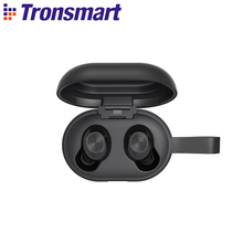 [Newest Version] Tronsmart Spunky Beat Bluetooth TWS Earphone APTX Wireless Earbuds with QualcommChip CVC 8 0 Touch Control cheap Dynamic In-Ear 42dBdB for Video Game Common Headphone For Mobile Phone HiFi Headphone Sport NONE User Manual Charging case
