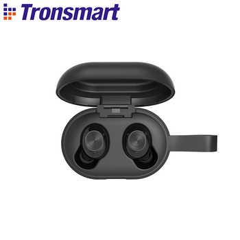 [Nueva versión] auriculares inalámbricos Tronsmart Spunky Beat Bluetooth APTX TWS con QualcommChip, CVC 8,0, Control táctil