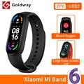 Xiaomi mi Band 6 умный браслет 5 цвета AMOLED экран miband 6 Smartband Кислород крови фитнес браслет Bluetooth спортивный водонепроницаемый смарт-браслет