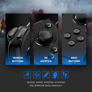Image 4 - GameSir G6 Mobile Gaming Touchroller Bluetooth Wireless Controller for Android Phone PUBG Call of Duty CODM   Black