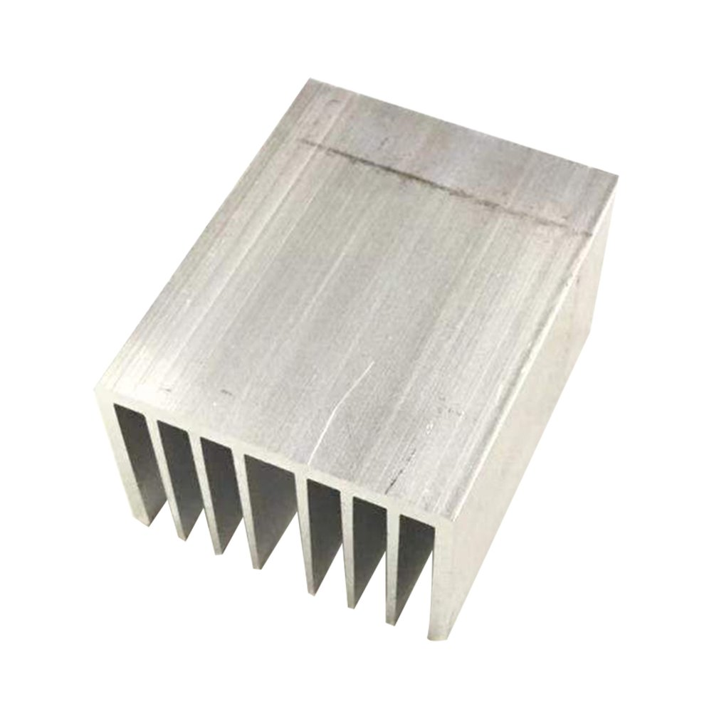 1pcs Aluminum Heatsink LED Heatsink Heat Sink Aluminum Profiles  Aluminum Color  Chassis  Radiator
