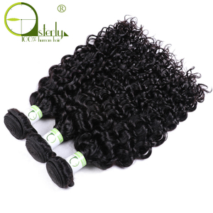 Image 3 - Sterly Water Wave Bundles With Closure Remy Human Hair Bundles With Closure Brazilian Hair Weave Bundles With Closure
